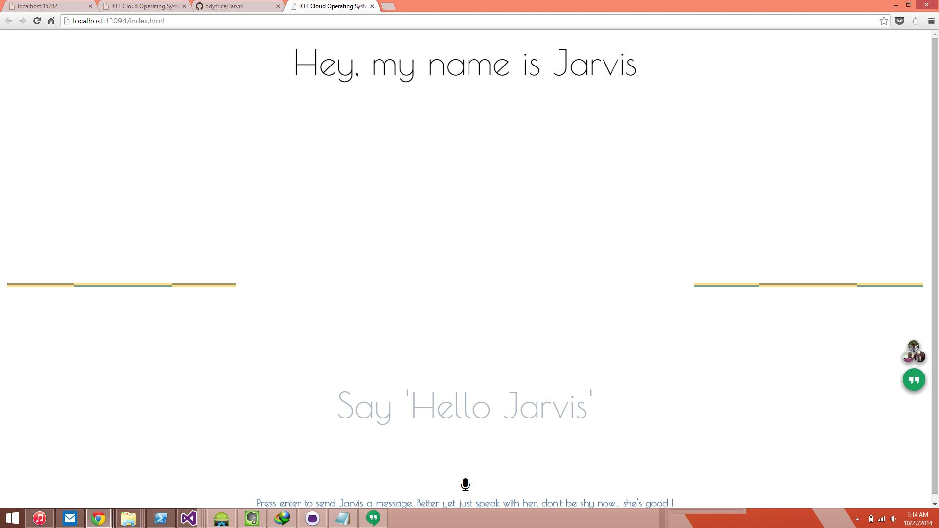 Jarvis-web