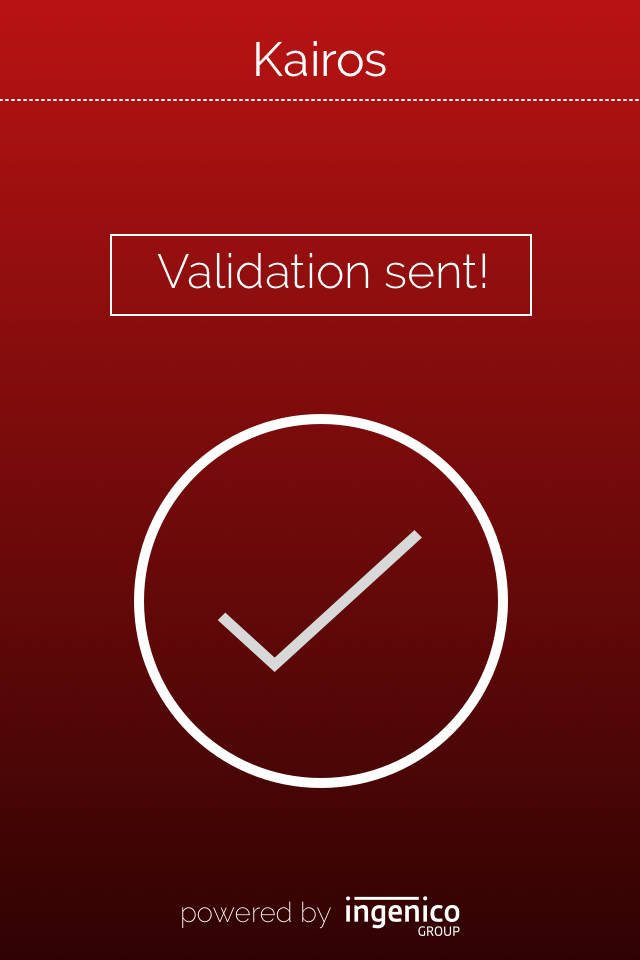Kairos_screen_-_validation_sent